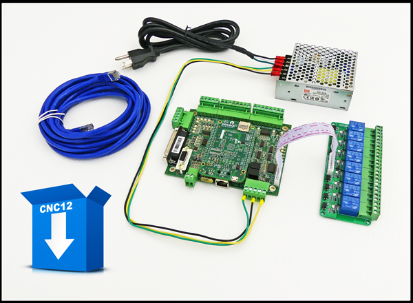 Acorn CNC controller, Step and Direction 4 axis CNC Control board