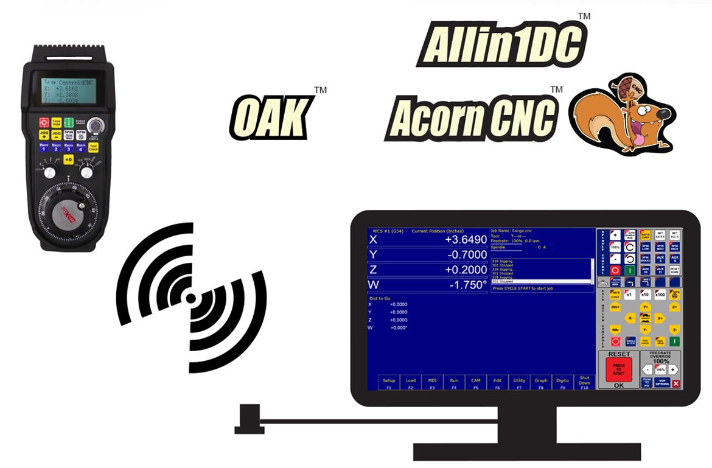 Centroid Cnc Controlscnc Controller Retrofitscnc Milling Fanuc Honda Connector Diagram Wireless Mpg Control Pendant
