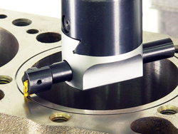 CNC Block O-ring Groove