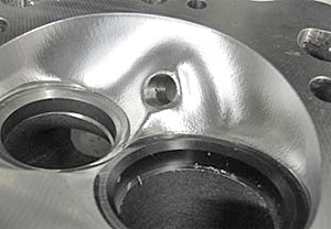 CNC Combustion Chamber on a Dart 360 head