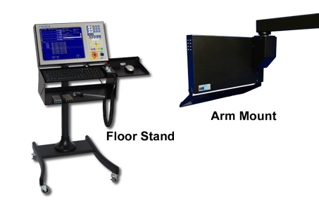cnc floor stand and arm mount