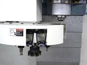 Geneva type Automatic tool changer.