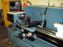 Prototrak 1440 CNC lathe before retrofit