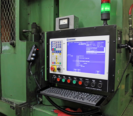 Centroid M400 Blanchard Grinder CNC control upgrade