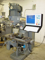 Bridgeport Boss 5 with Centroid M400 CNC retrofit