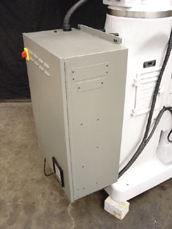 Bridgeport CENTROID CNC control mounting.