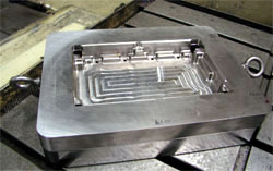 Devleig Horizontal Jog Bore machine created with part with a CENTROID M400 CNC control.
