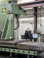 Huge Horizontal Jig Bore machines!