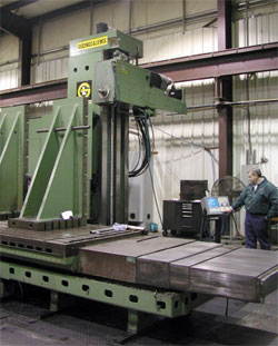 G and L 4 Axis Horizontal Milling machine, CENTROID M400 Equipped