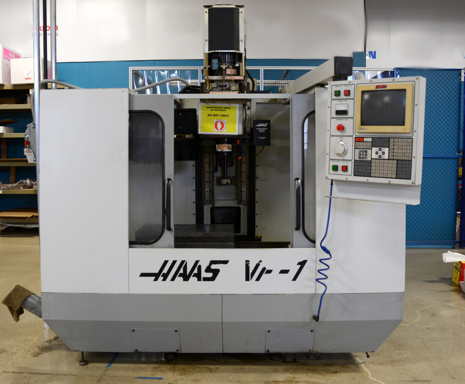 Haas CNC Parts Repair Service VF VMC CNC retrofit upgrade.