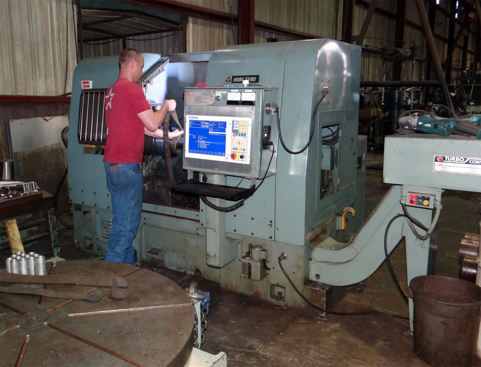 cnc machine work needed