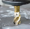 Rigid Tapping with Deep Hole Tapping Cycle Video.