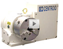 CNC Rotary Table Video.