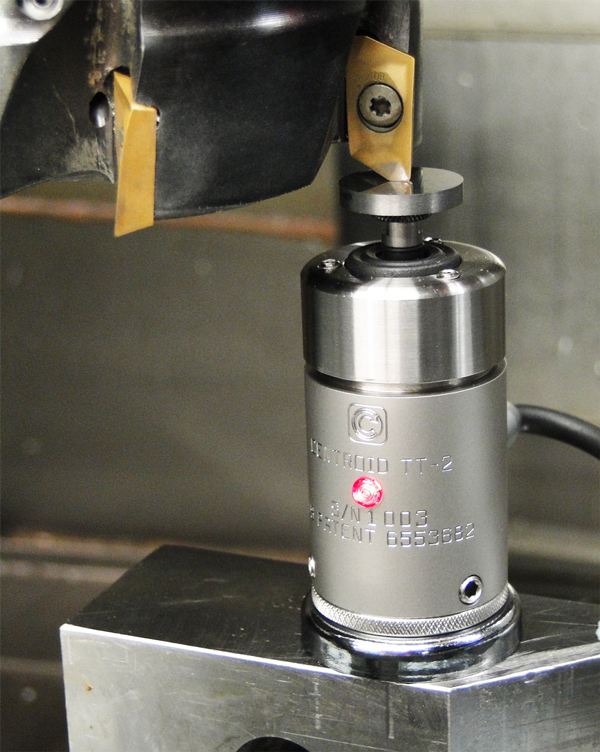 CNC auto tool height measurement  Sets Tool Height offset